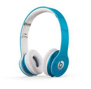 light blue beats beats by dr dre hd headphones light blue