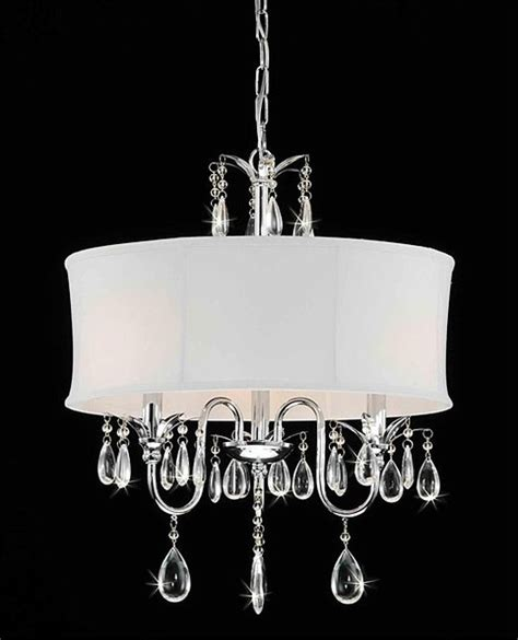 chrome 3 light chandelier