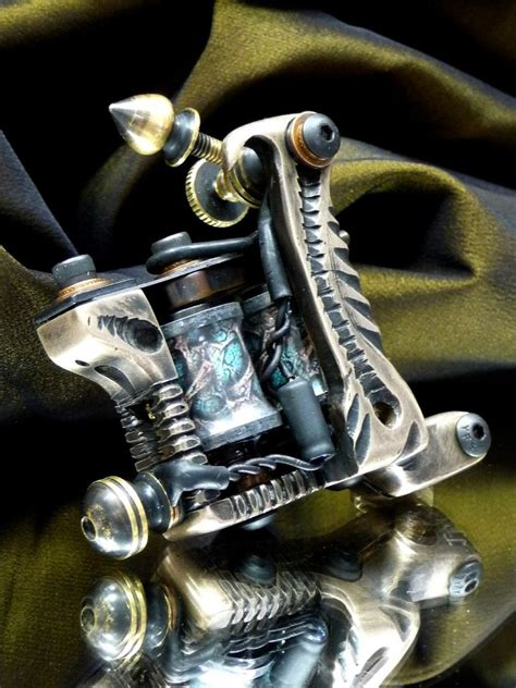 16th custom tattoo machine by clockwork irons on deviantart