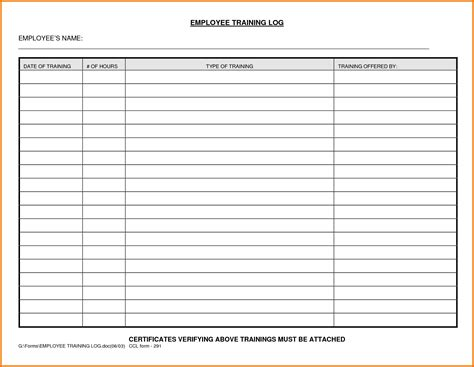 coaching record template excel employee log template best photos of