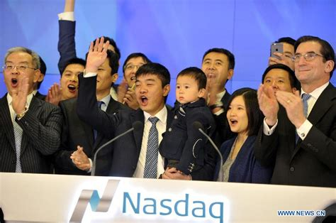 alibaba nasdaq alibaba backed momo debuts on nasdaq 6 chinadaily com cn