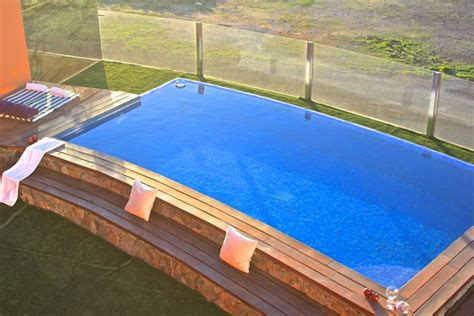 haus mit pool am meer moderne ferienvilla mit beheiztem pool direkt am meer