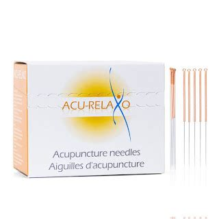 comfort acupuncture acu relaxo acupuncture needles 5 bulk from lierre canada