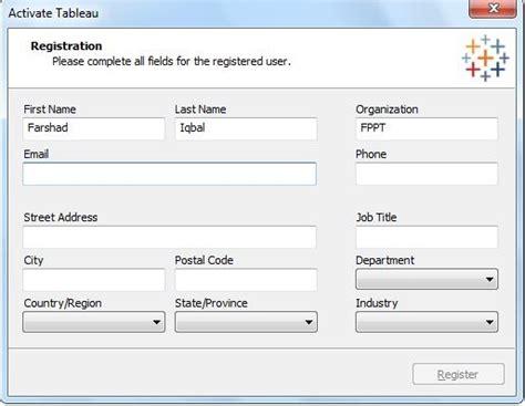 Tableau Desktop Personal Edition organisieren sie eine sicht daten aus datenbanken und
