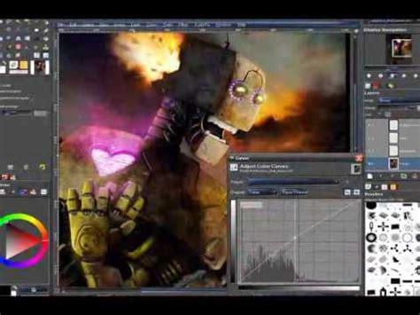 tutorial gimp painting gimp tutorial gimp paint studio introduction youtube