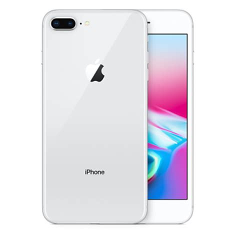 apple iphone 8 plus 256gb silver mq8q2zd a