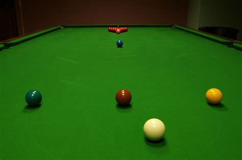 how many balls on a pool table file snooker table start jpg wikimedia commons