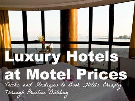 priceline bidding tips  bid  hotels nomad wallet