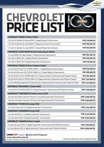 chevrolet colorado price in philippines 2017   2018 best