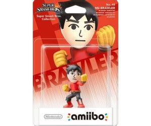 Amiibo Mii Brawler nintendo amiibo mii brawler smash bros collection