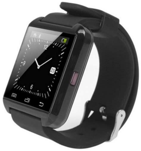 Smartwatch U8 Original Black u u8 bluetooth black smartwatch price in india buy