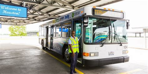 car shuttle to airport iah rental cars houston airport system