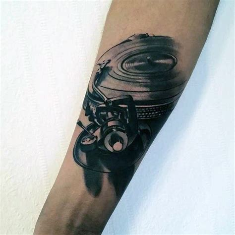 vinyl tattoo 50 vinyl record designs for ink