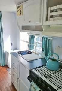 Camper Trailer Kitchen Ideas 100 Ideas To Try About Happy Skampy Aqua Curtains
