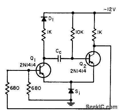 diodes in series opposing transient immune mono power supply circuit circuit diagram seekic