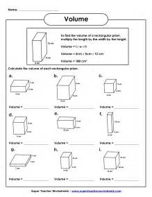 16 best images of volume and capacity worksheets