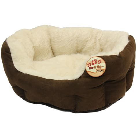 comfy dog beds me my small soft dog cat pet bed fully washable xs s