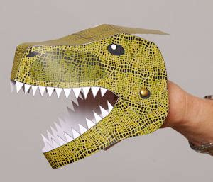 How To Make A Dinosaur Model From Paper Mache - prehistoric puppets and models geological survey