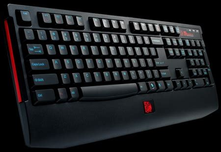 Keyboard Sades Spearwolf tt esports knucker gaming keyboard features tt plunger