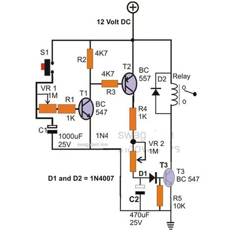 12v time delay relay circuit readingrat net