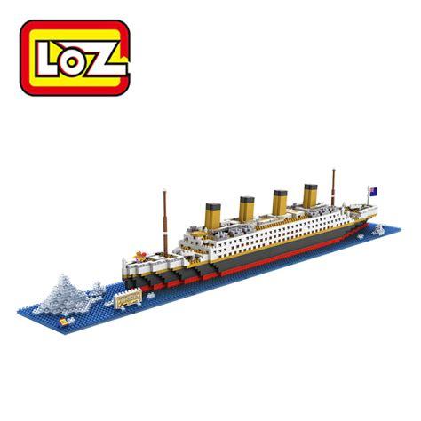 titanic toy boat loz rms titanic ship 3d building blocks toy titanic boat