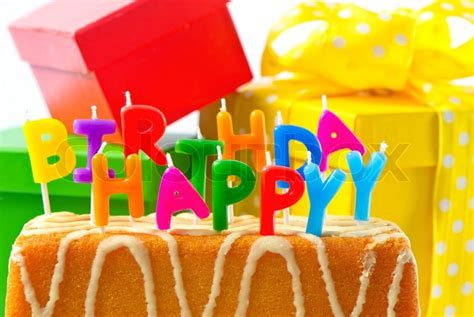 Alles Gute Zum Geburtstag Geburtstagstorte Mit Buchstaben