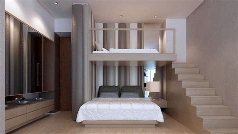 interior design for 10x10 bedroom kid bedrooms with bunkbed and padded wall cushion