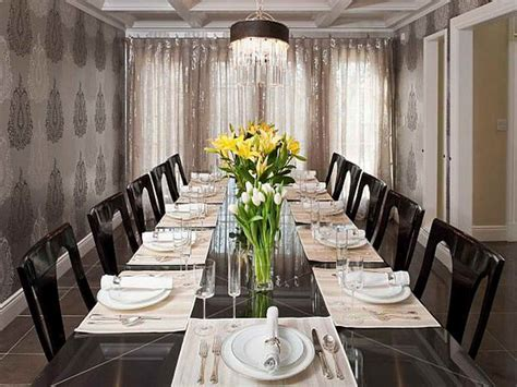 bloombety formal dining room wallpaper design ideas
