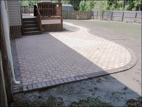 Patio Pavers Designs Paver Design Patterns Interlocking Paver Patio Plans