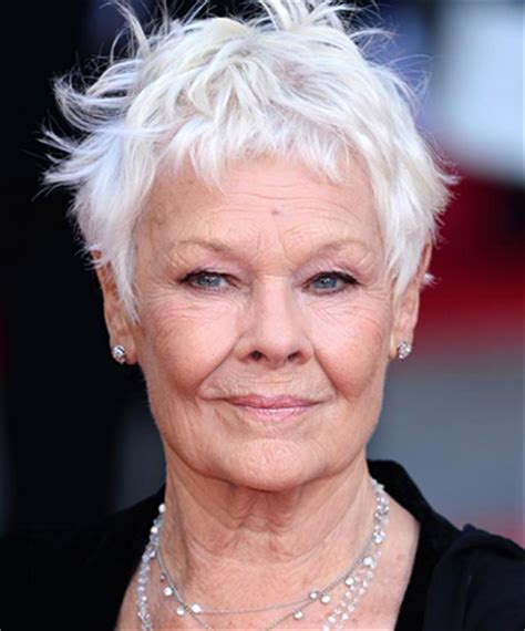 judi dench how to flaunt gray hair like a celebrity