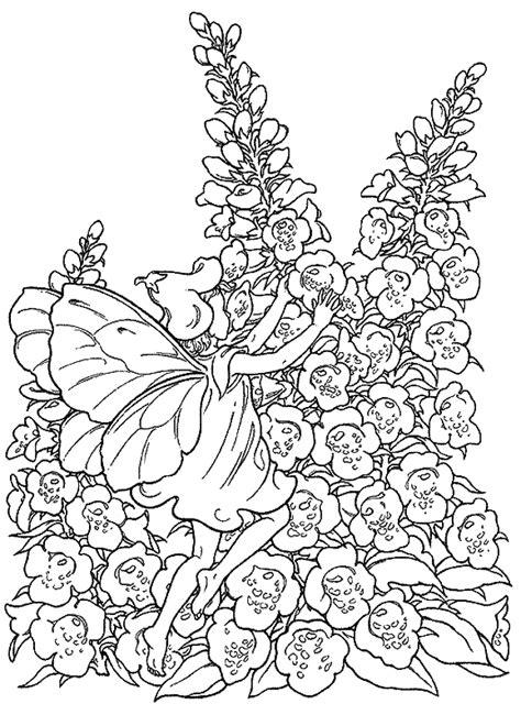 les Doigts de Dames | fée | Fairy coloring pages, Coloring