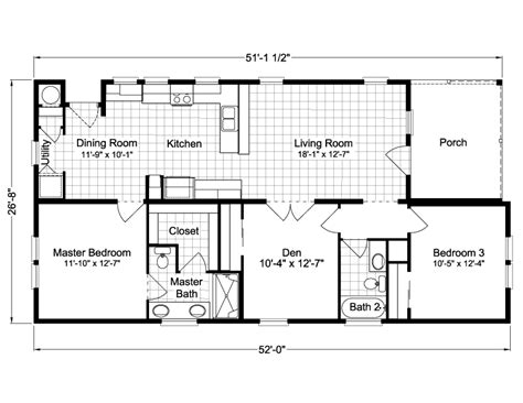 summer elp3529c home floor plan manufactured and