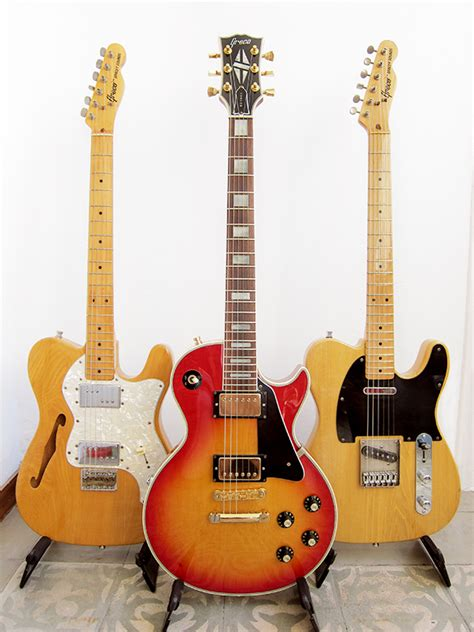Great Home Designs by Japanese Guitar Brands Claescaster