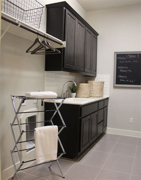 Two Tone Kitchen Cabinet Ideas Laundry Mud Room Burrows Cabinets Central Texas