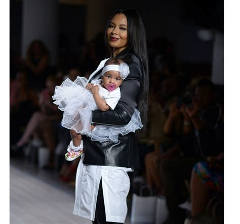 vanessa simmons baby 2015 angela simmons brings angela i am to new york fashion