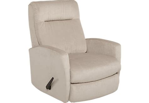 499 99 Claudio Beige Swivel Rocker Recliner Reclining Swivel Rocker Recliners Living Room Furniture