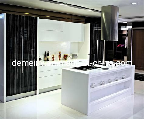 Uv Kitchen Cabinet China Uv Integrated Kitchen Cabinet Dm U3944 Photos Pictures Made In China