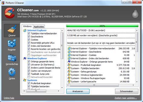 ccleaner ssd cursus overstappen op ssd how to computer totaal