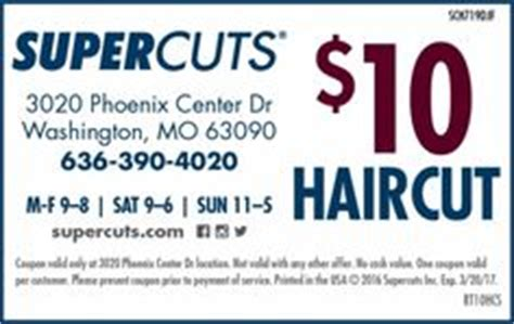 supercuts coupons haircuts on pinterest