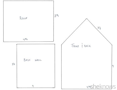 simple gingerbread house template printable haunted gingerbread house is as fun to make as it is to eat