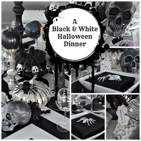 black and white dinner ideas a dinner celebrate decorate