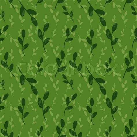 leaf pattern overlay seamless foliage pattern with overlay stock vector