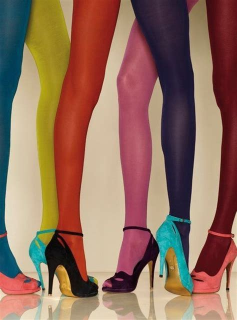 colored tights colored tights and shoes tights