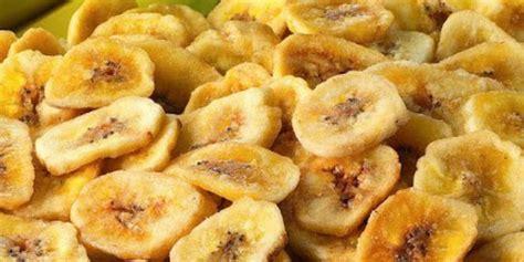 resep  membuat keripik pisang aneka rasa  renyah