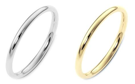 thin gold wedding bands for hairstyle 2013
