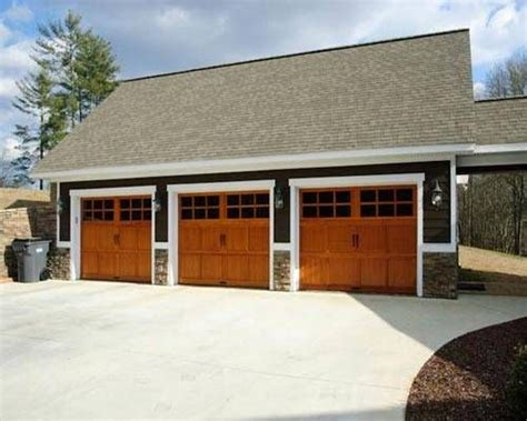 3 car detached garage plans three car garage garage plan pinterest car garage