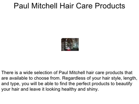 Paul Mitchell 728 by Paul Mitchell Hair Care Products The Selection