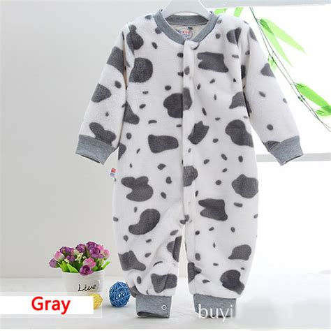 2016 high quality flannel baby boy girl winter clothes thickening baby rompers coverall baby