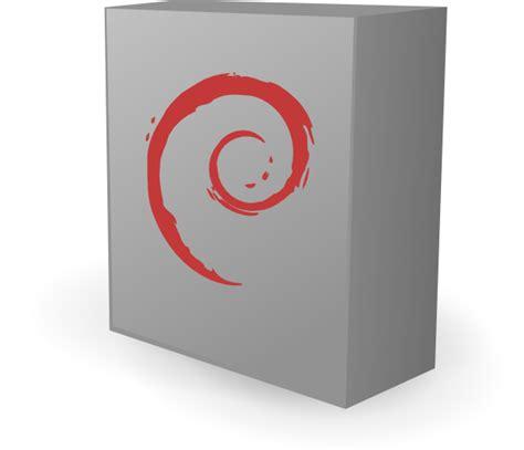 debian box clip at clker vector clip
