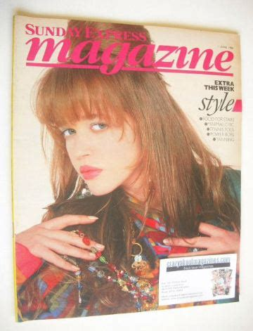 supplement xpress trevino sunday express magazine 1 june 1986 style cover